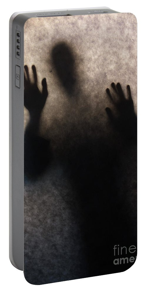 Man Portable Battery Charger featuring the photograph I Will Get You by Jaroslaw Blaminsky