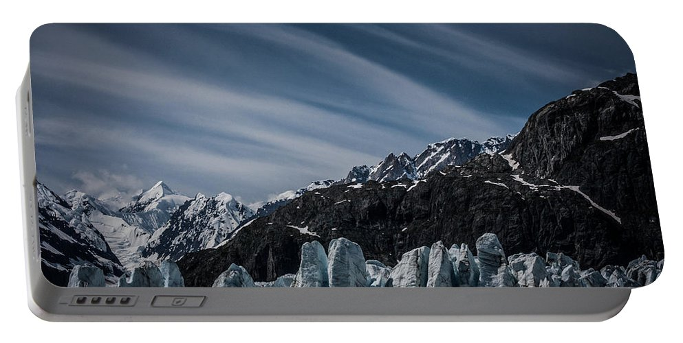Margerie Portable Battery Charger featuring the photograph Ice And Sky With My Little Eye by Dayne Reast