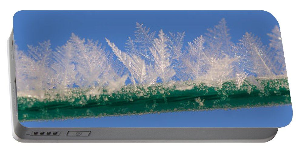 Ice Portable Battery Charger featuring the photograph Ice by Carol Lynch