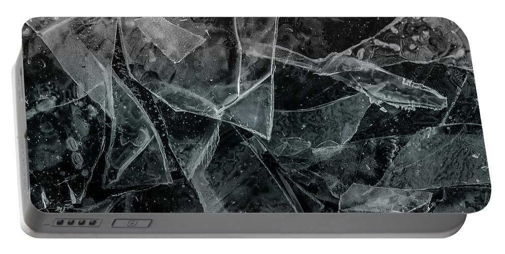 Ice Portable Battery Charger featuring the photograph Ice Dream by Susan Capuano