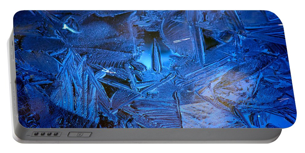 Lehto Portable Battery Charger featuring the photograph Ice Slace by Jouko Lehto
