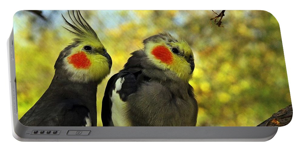 Avian Portable Battery Charger featuring the photograph Ignore Me Will You by Robert Brown