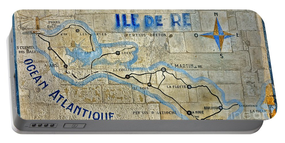 Ile Portable Battery Charger featuring the photograph Ile De Re by Olivier Le Queinec
