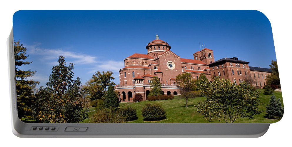 Monasteries Portable Battery Charger featuring the photograph Immaculate Conception Monastery by Sandy Keeton