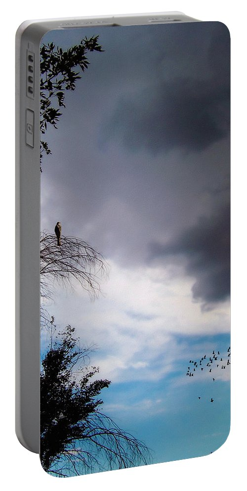 Glenn Mccarthy Portable Battery Charger featuring the photograph Impending Storm by Glenn McCarthy