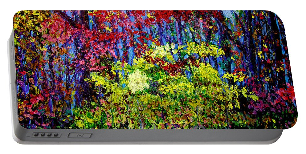 Impressionism Portable Battery Charger featuring the painting Impressionism 1 by Stan Hamilton
