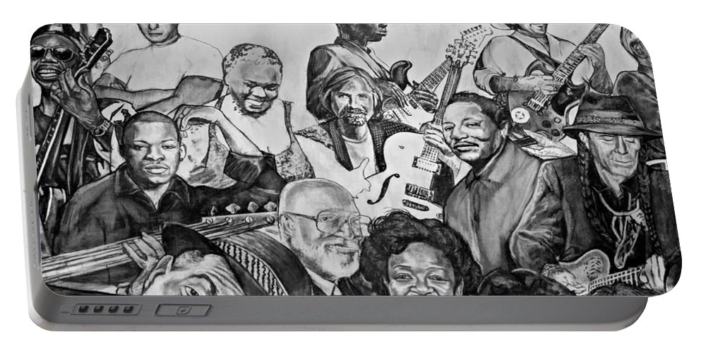 Nola Portable Battery Charger featuring the photograph In Praise Of Jazz V by Steve Harrington