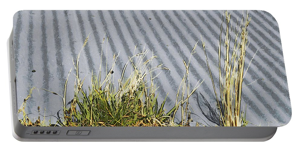 Gutter Portable Battery Charger featuring the digital art In The Gutter by Steve Taylor