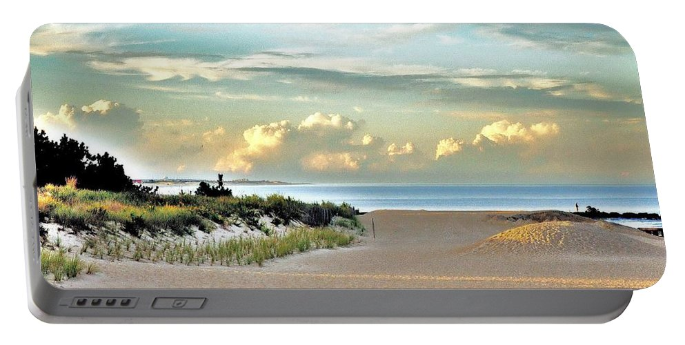 Indian River Inlet Portable Battery Charger featuring the photograph Indian River Inlet - Delaware State Parks by Kim Bemis