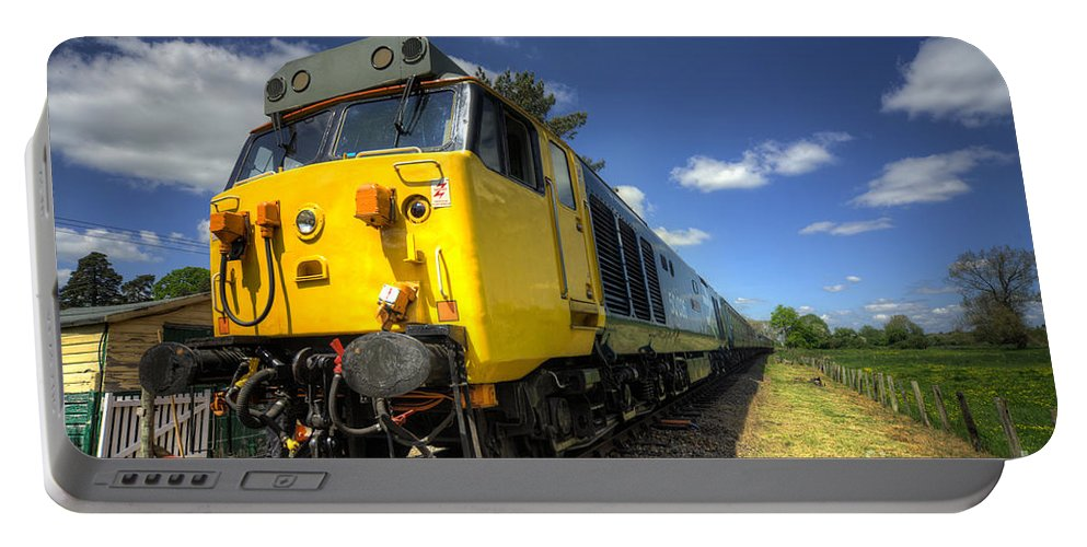Indomitable Portable Battery Charger featuring the photograph Indomitable At Wymondonham by Rob Hawkins
