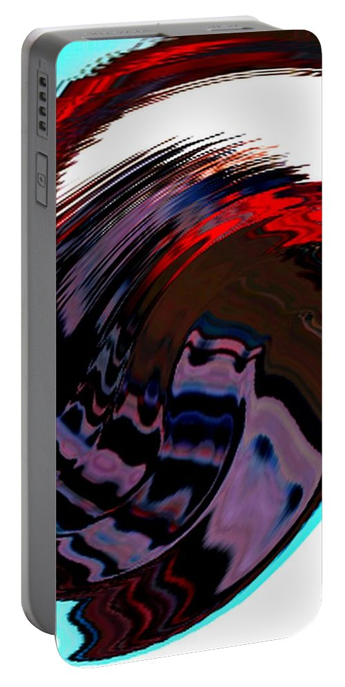 Modern Art Portable Battery Charger featuring the photograph Infinity Mask 5 by Cj Carroll