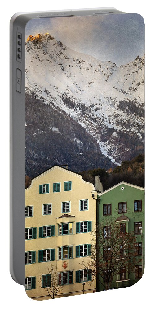 Innsbruck Portable Battery Charger featuring the photograph Innsbruck by Alfio Finocchiaro