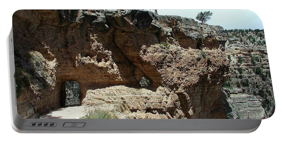 Bright Angel Trail Portable Battery Charger featuring the photograph Inside The Grand Canyon by Steve Ondrus