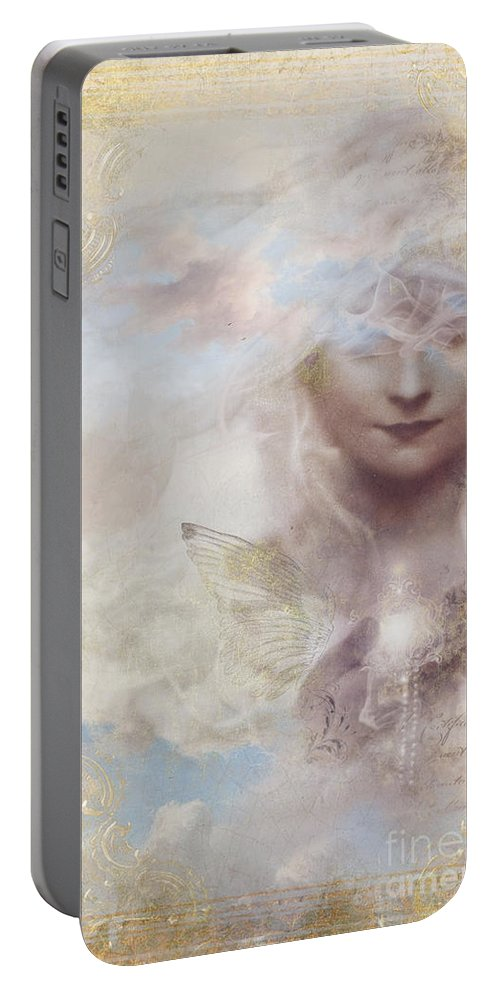 Aimee Stewart Portable Battery Charger featuring the digital art Inspire by Aimee Stewart