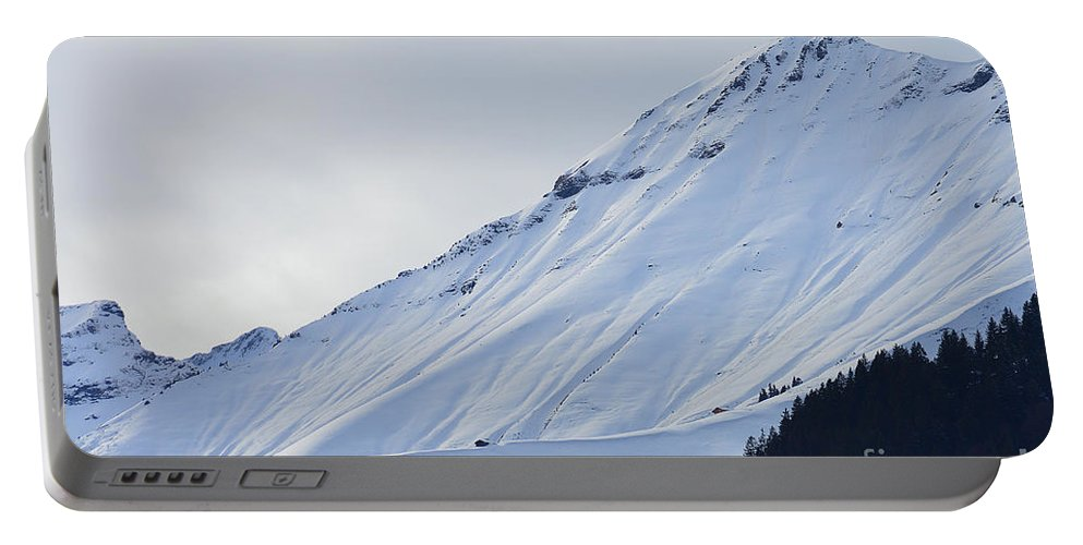 Alps Portable Battery Charger featuring the photograph Interfluence by Felicia Tica