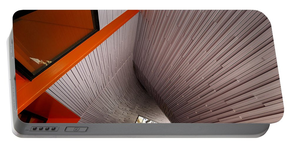 Architecture Portable Battery Charger featuring the photograph Into The Abyss by Wayne Sherriff