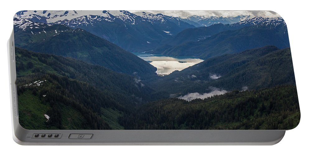 Frederick Sound Portable Battery Charger featuring the photograph Into The Wild by Mike Reid