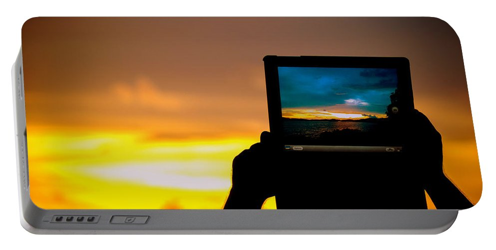 Ipad Portable Battery Charger featuring the photograph Ipad Photography by Jijo George