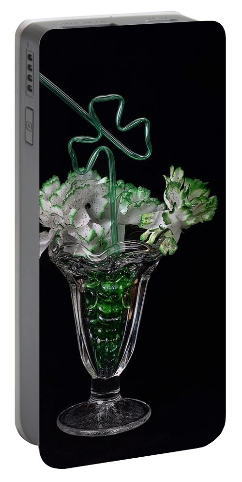 Seasonal Portable Battery Charger featuring the photograph Irish Spring by Michael Gordon