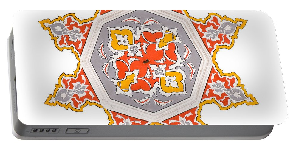 Art Portable Battery Charger featuring the photograph Islamic Art 08 by Antony McAulay