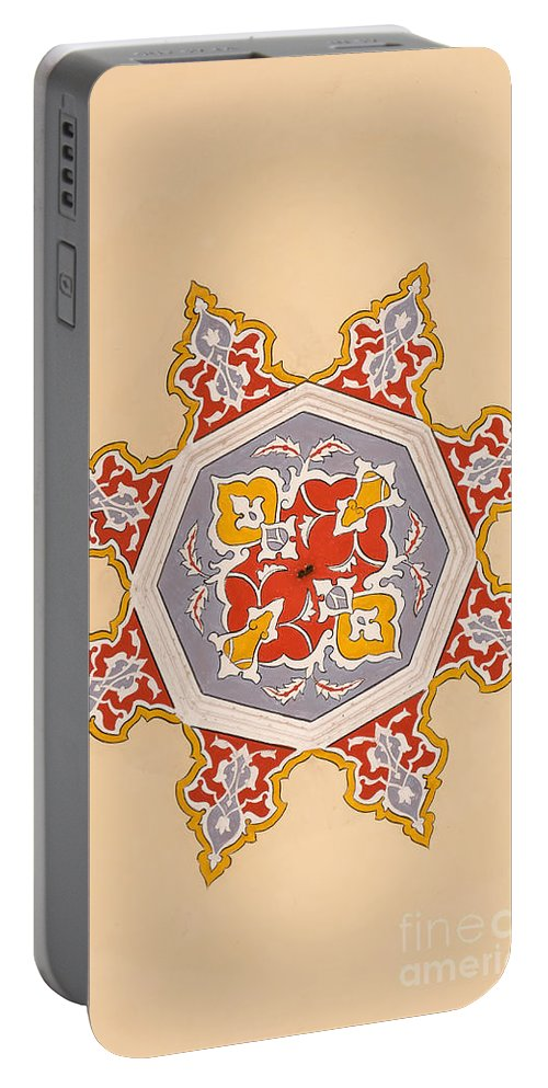 Art Portable Battery Charger featuring the photograph Islamic Art by Antony McAulay