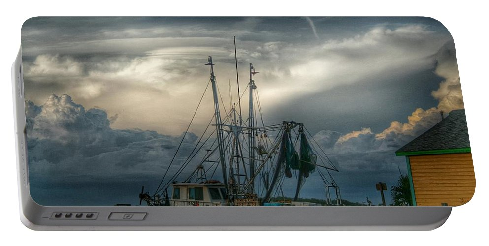 Fishing Portable Battery Charger featuring the photograph Island Life by Jeannine Rose