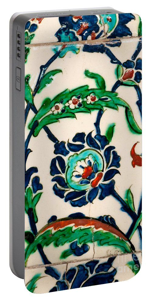 Istanbul Portable Battery Charger featuring the photograph Iznik 20 by Rick Piper Photography