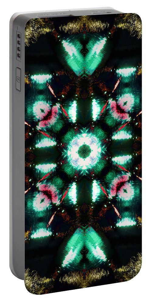 Water Portable Battery Charger featuring the photograph Jade Reflections - 3 by Shawna Rowe
