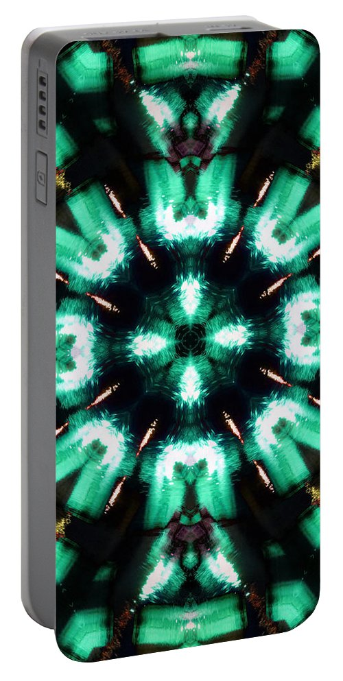 Water Portable Battery Charger featuring the photograph Jade Reflections - 4 by Shawna Rowe
