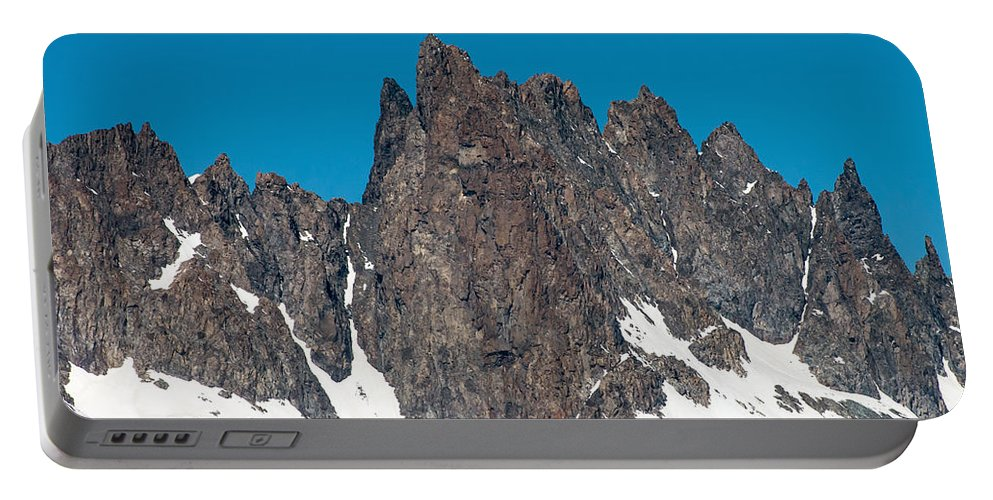 Jagged Portable Battery Charger featuring the photograph Jagged by Stephen Whalen