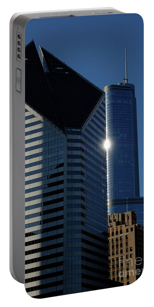 Architecture Portable Battery Charger featuring the photograph Jammer Architecture 012 by First Star Art