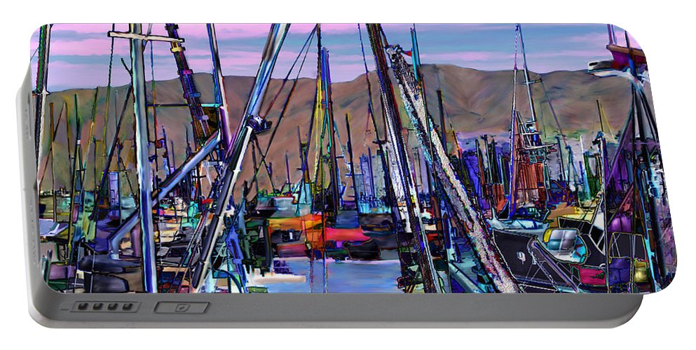 Harbors Portable Battery Charger featuring the photograph Jammin At Twilight by Kurt Van Wagner