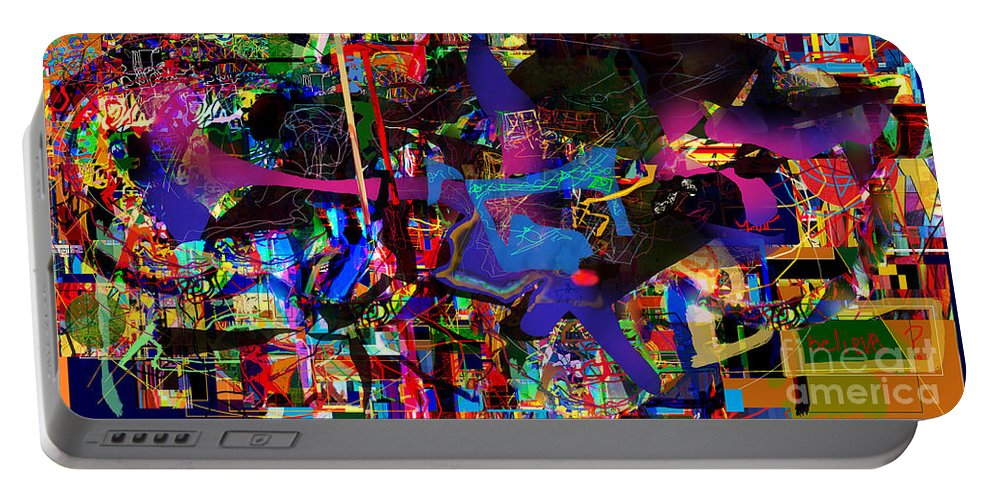 Torah Portable Battery Charger featuring the digital art Jew 10 by David Baruch Wolk
