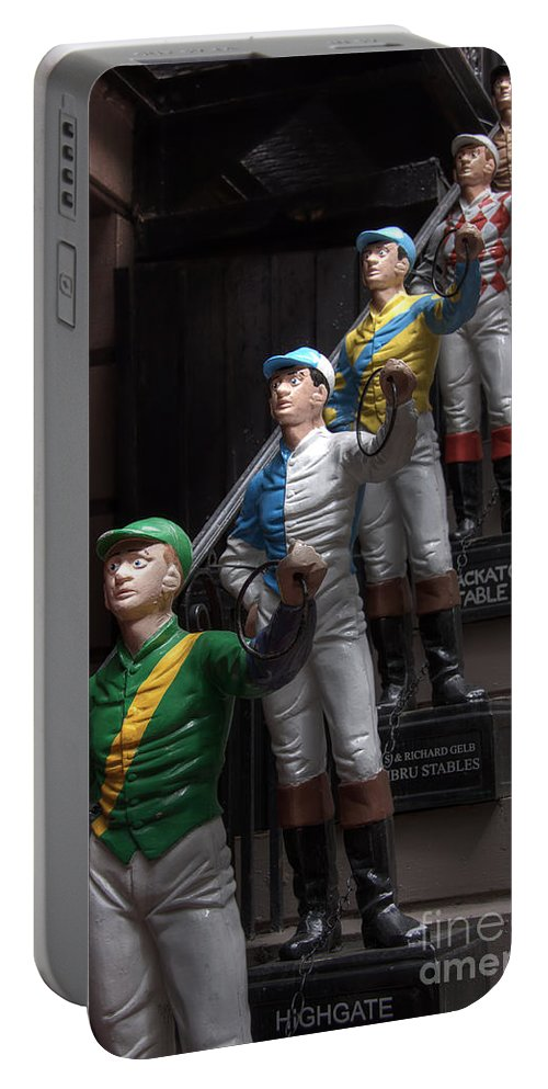 Jockeys Portable Battery Charger featuring the photograph Jockeys by Rick Kuperberg Sr