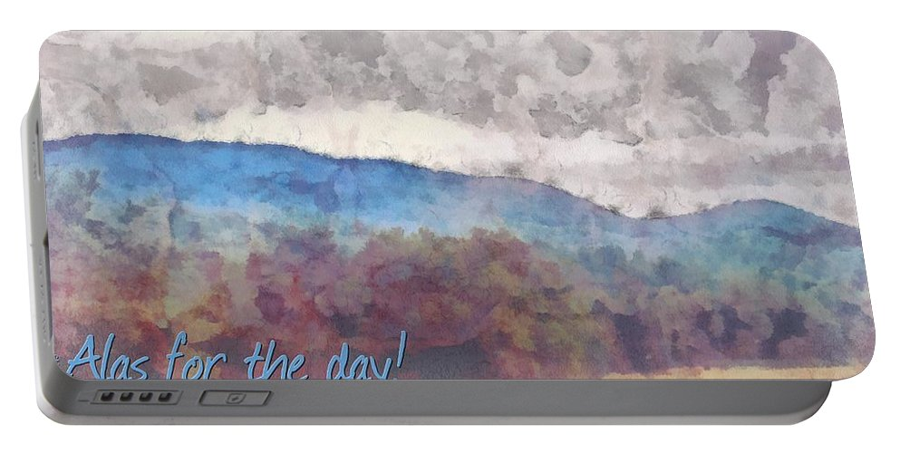 Jesus Portable Battery Charger featuring the digital art Joel 1 15 by Michelle Greene Wheeler