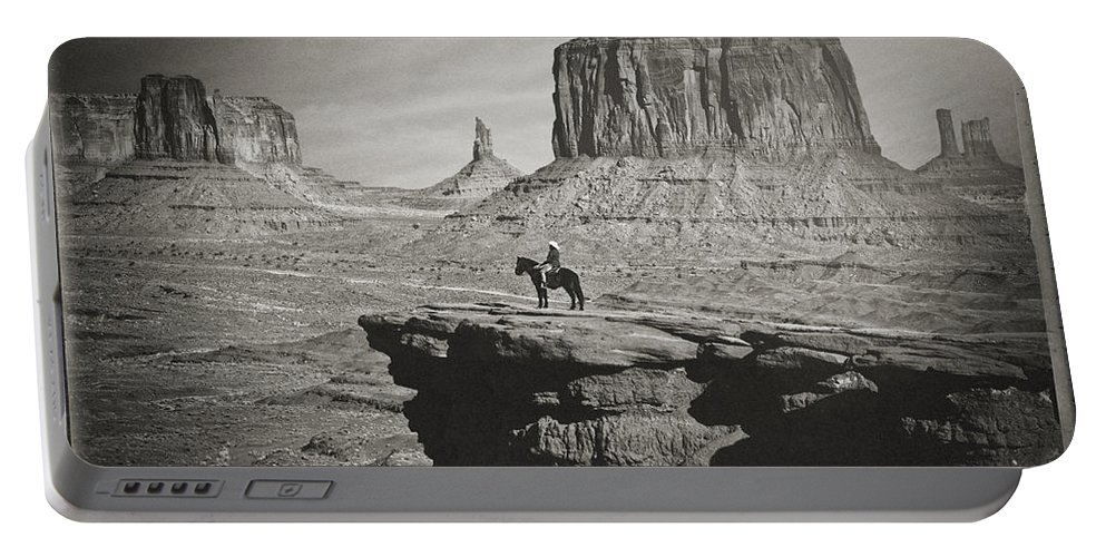 John Ford Point Portable Battery Charger featuring the photograph John Ford Point by Priscilla Burgers