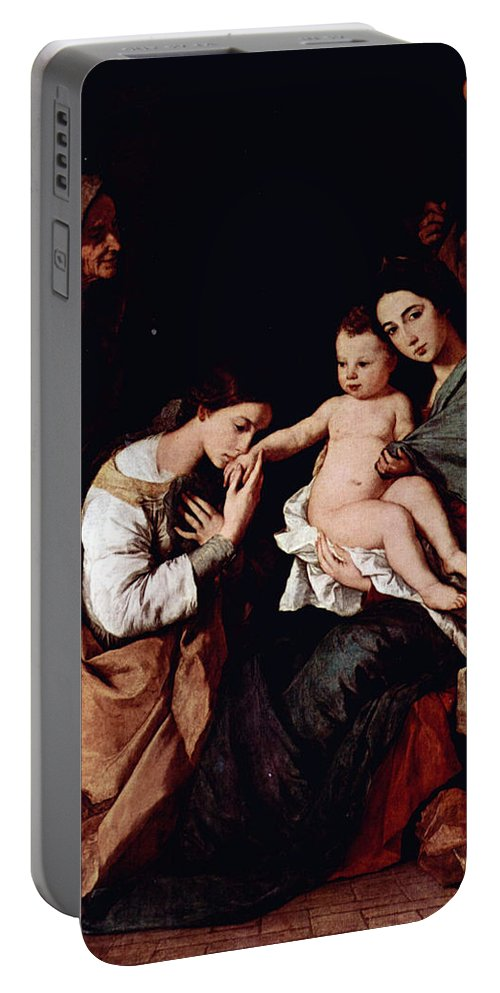 Jos Portable Battery Charger featuring the photograph Jos De Ribera by Munir Alawi