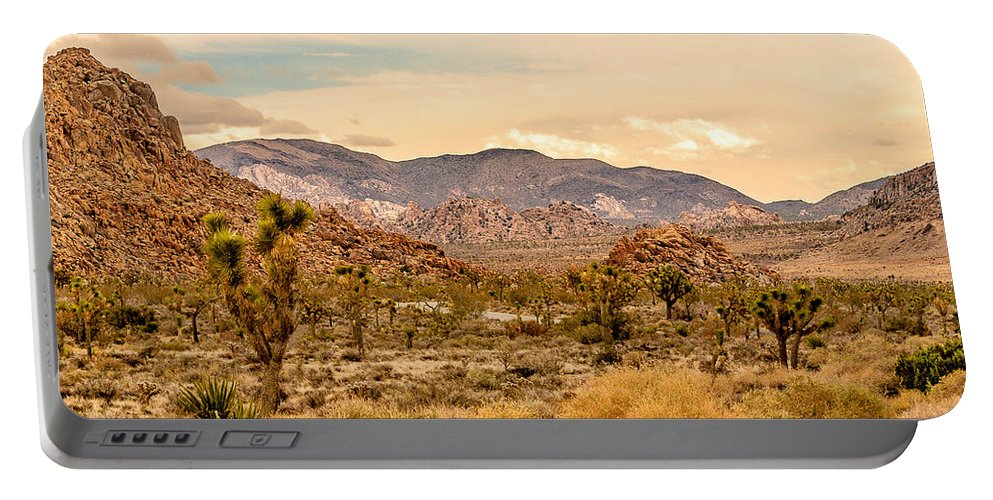 Joshua Tree National Park Portable Battery Charger featuring the photograph Joshua Tree National Park by Bob and Nadine Johnston