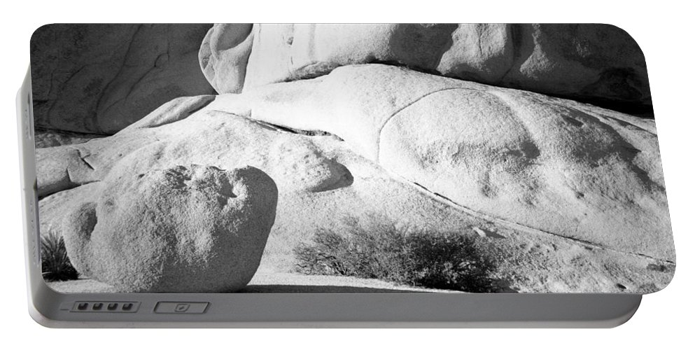 Diana F+ Portable Battery Charger featuring the photograph Joshua Tree Rock by Alex Snay