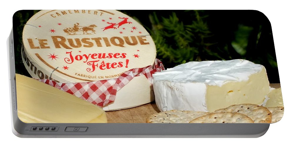 Cheese Portable Battery Charger featuring the photograph Joyeuses Fetes by Guy Pettingell