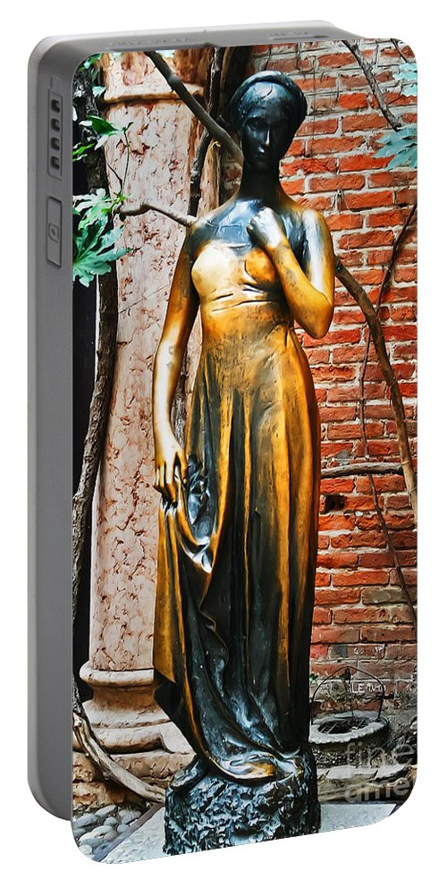Travel Portable Battery Charger featuring the photograph Juliet My Love by Elvis Vaughn