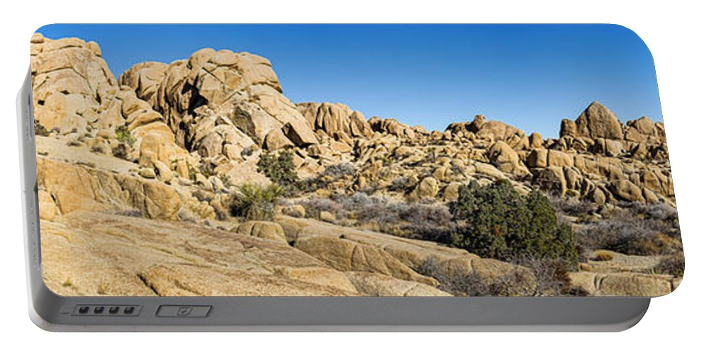 Joshua Tree Portable Battery Charger featuring the photograph Jumbo Rocks by Kelley King