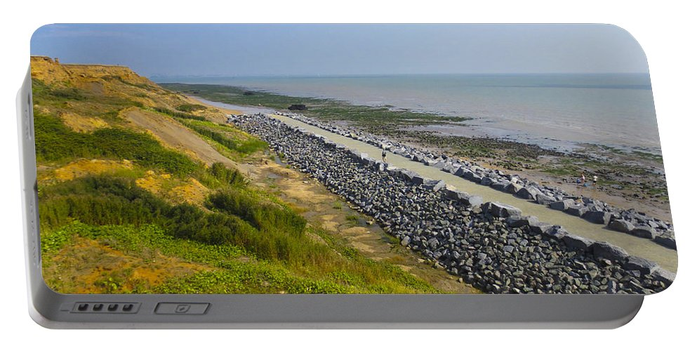 Dinosaur Portable Battery Charger featuring the photograph Jurassic Coast by David Pyatt
