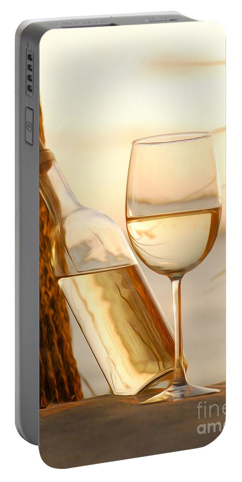 Sunset Portable Battery Charger featuring the photograph Just A Beautiful Day by Jon Neidert