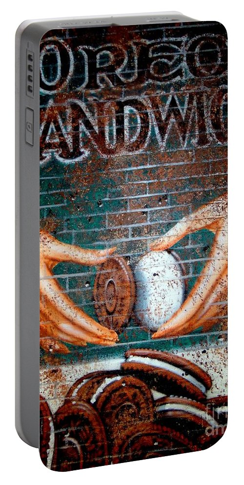 Mural.wall Art Portable Battery Charger featuring the photograph Just Add Milk by Ed Weidman