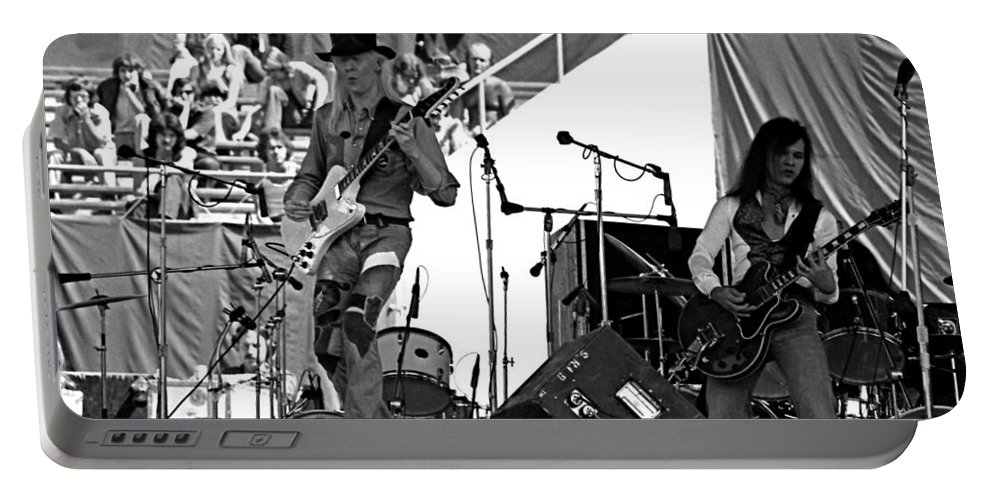 Johnny Winter Portable Battery Charger featuring the photograph Jwinter #19 by Ben Upham