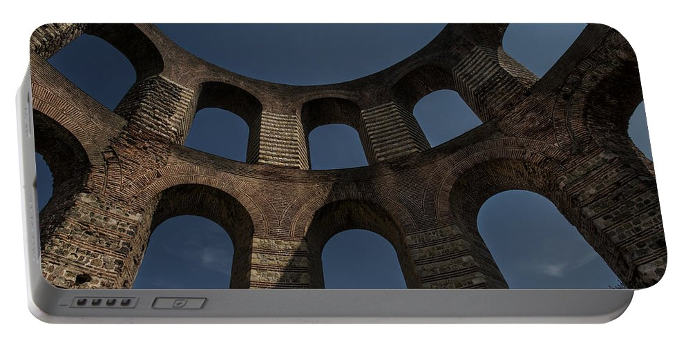 Ancient Portable Battery Charger featuring the photograph Kaiserthermen by TouTouke A Y