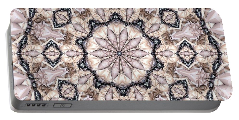 Kaleidoscope Portable Battery Charger featuring the photograph Kaleidoscope 21 by Ron Bissett