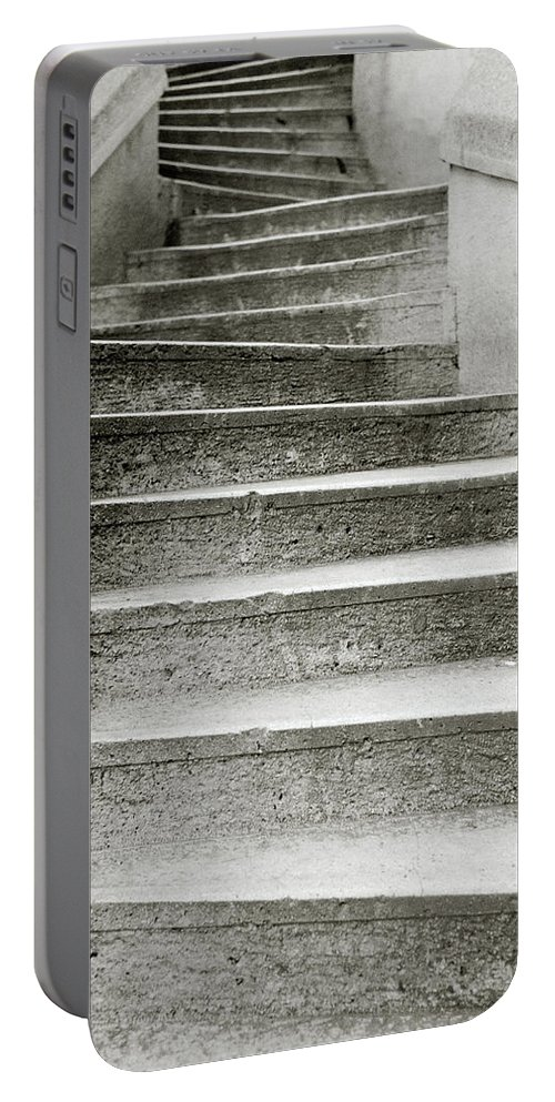 Istanbul Portable Battery Charger featuring the photograph Kamondo Steps by Shaun Higson