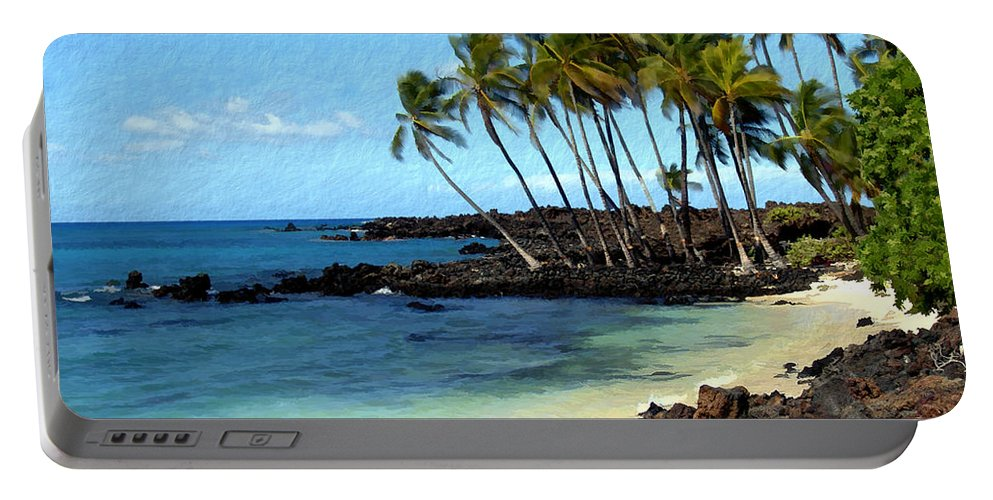 Hawaii Portable Battery Charger featuring the photograph Kekaha Kai II by Kurt Van Wagner